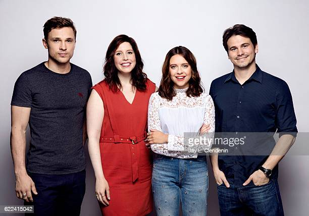 William Mosley Vanessa Bayer Bel Powley and Jason Ritter of the film 'Carrie Pilby' pose for a portraits at the Toronto International Film Festival...