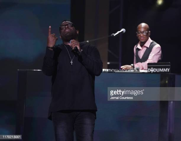 William Murphy performs onstage at Black Girls Rock 2019 Hosted By Niecy Nash at NJPAC on August 25 2019 in Newark New Jersey