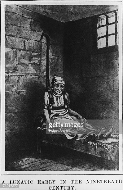 William Norris a patient in the Bethlem Royal Hospital in London known as the Bedlam lunatic asylum 1814 A 55yearold American Norris had been...