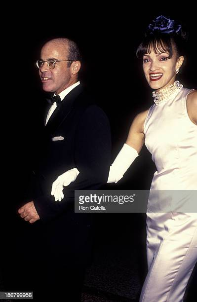 William Norwich and Cari Modine attend Diana Vreeland Costume Exhibition on December 5 1994 at the Metropolitan Museum of Art in New York City