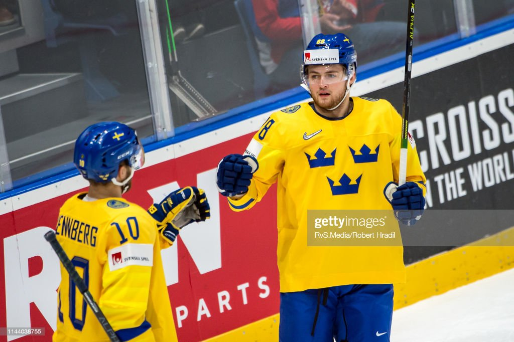 Sweden v Austria: Group B - 2019 IIHF Ice Hockey World Championship Slovakia : News Photo