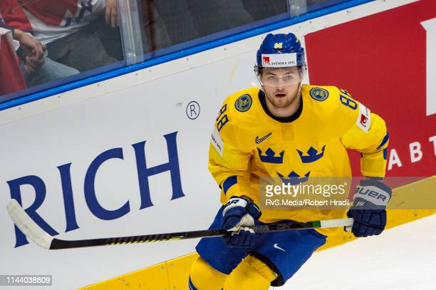 William Nylander of Sweden skates during the 2019 IIHF Ice Hockey World Championship Slovakia group game between Sweden and Austria at Ondrej Nepela...