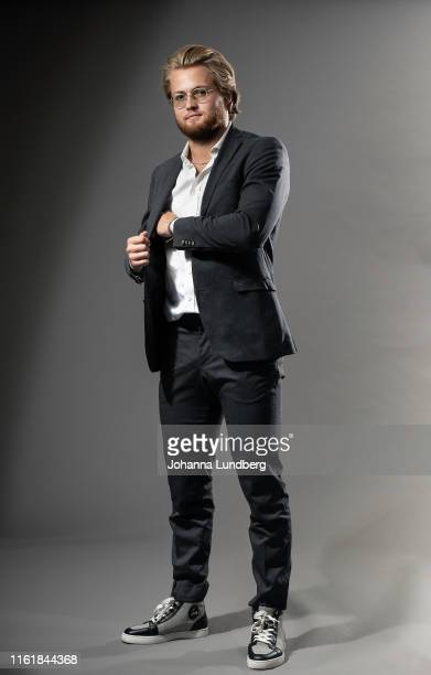 William Nylander of the Toronto Maple Leafs poses for a portrait during the NHL European Media Tour on August 15, 2019 in Stockholm, Sweden.