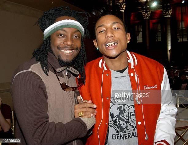 WillIAm of Black Eyed Peas and Pharrell Williams