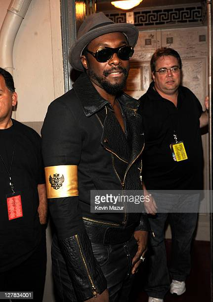 Will.i.am of Black Eyed Peas backstage during STING: 25th Anniversary/60th Birthday Concert to Benefit Robin Hood Foundation at Beacon Theatre on...