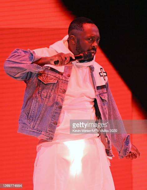 william of Black Eyed Peas performs at the 2020 MTV Video Music Awards broadcast on Sunday August 30 2020 in New York City