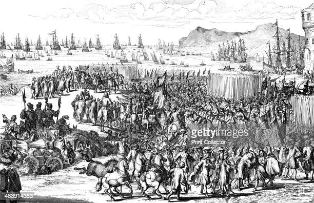 William of Orange landing with his army at Torbay Devon 5 November 1688 A protestant William of Orange was invited by a conspiracy of English...