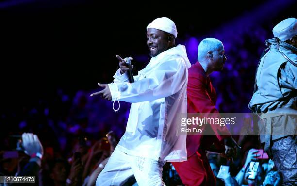 william of The Black Eyed Peas and J Balvin perform onstage during the 2020 Spotify Awards at the Auditorio Nacional on March 05 2020 in Mexico City...