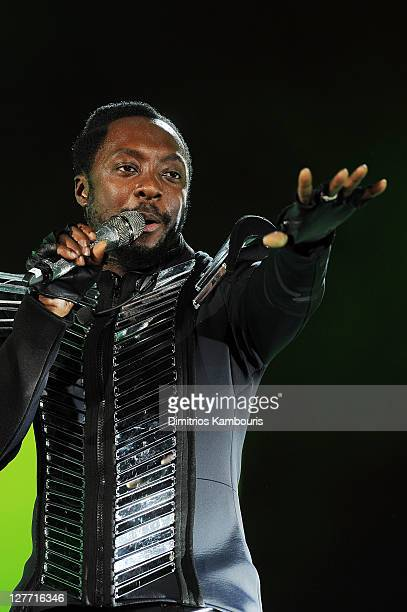 william of The Black Eyed Peas perform onstage during CHASE Presents The Black Eyed Peas and Friends Concert 4 NYC benefiting the Robin Hood...