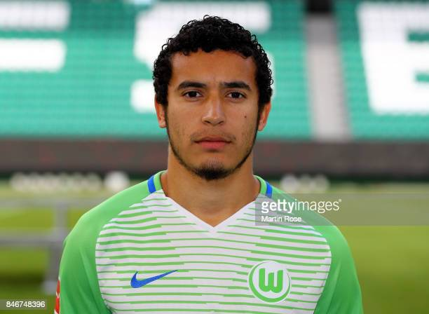 William of VfL Wolfsburg poses during the team presentation at on September 13 2017 in Wolfsburg Germany