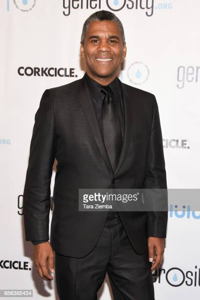 William Owens attends a Generosityorg fundraiser for World Water Day at Montage Hotel on March 21 2017 in Beverly Hills California