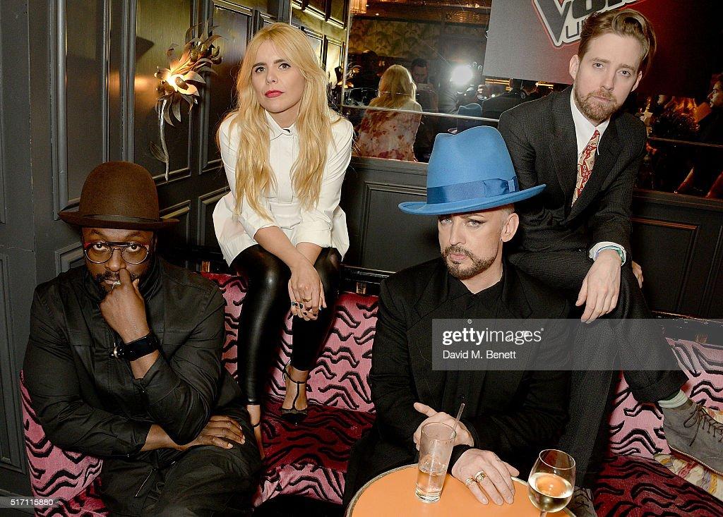 The Voice UK Open Mic Night : News Photo