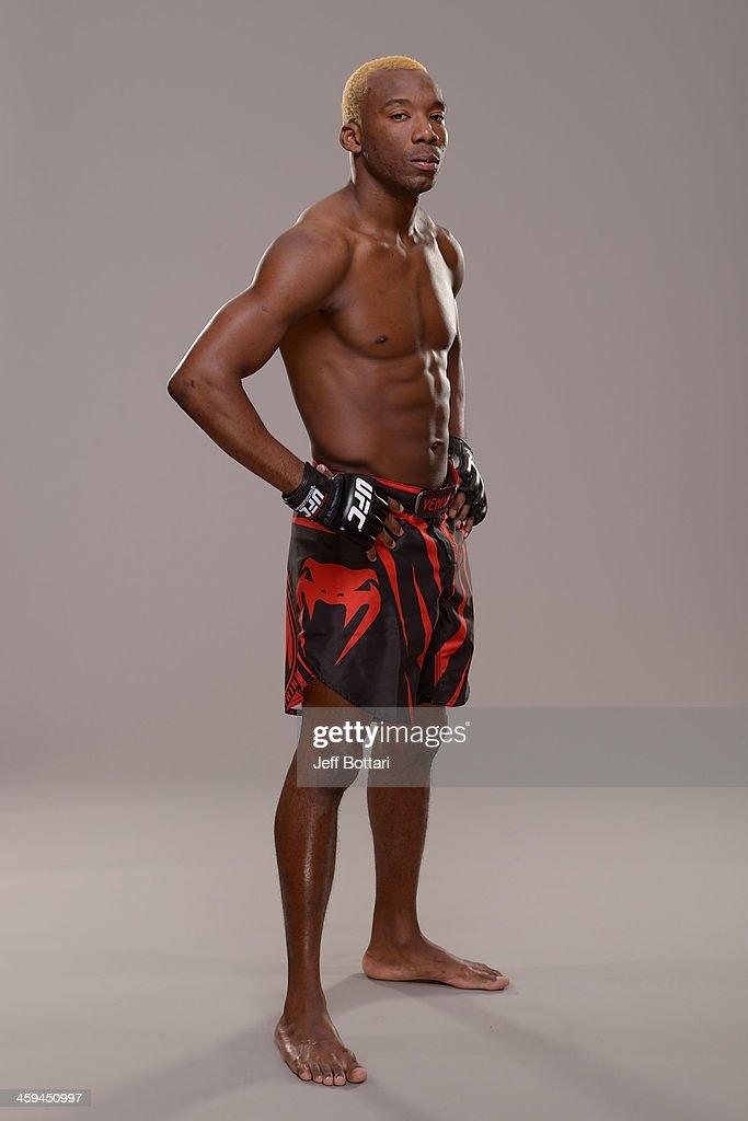 William 'Patolino' Macario poses for a portrait during a UFC photo session on December 26, 2013 in Las Vegas, Nevada.