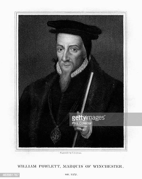 William Paulet 1st Marquess of Winchester English statesman Portrait of Paulet whose name is variously spelt Powlett Poulet or Pawlet