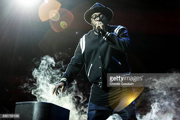 William peforms on stage at the Royal Albert Hall on May 11 2016 in London England The concert was the official launch of the new dial watch and was...