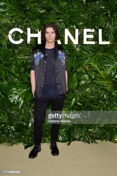 William Peltz attends Chanel Dinner Celebrating Gabrielle Chanel Essence With Margot Robbie on September 12 2019 in Los Angeles California