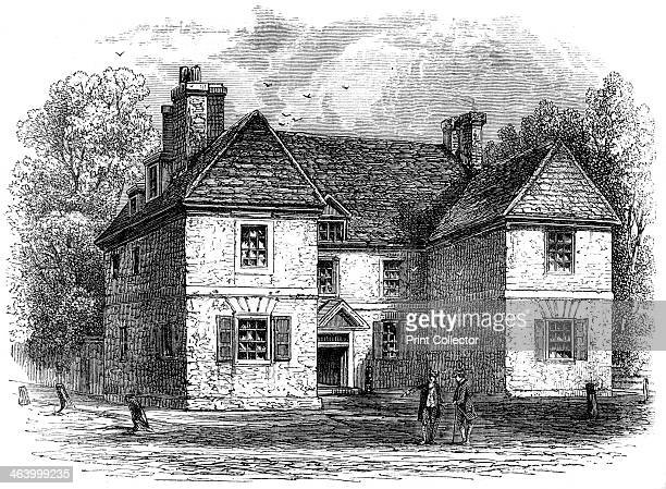 William Penn's House Philadelphia Pennsylvania late 17thearly 18th century The home of William Penn the English Quaker who established the colony of...