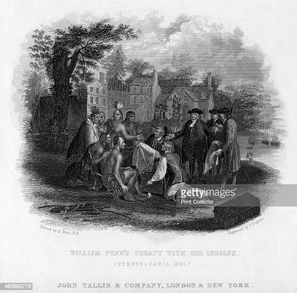 'William Penn's Treaty with the Indians' Pennsylvania 1681 William Penn was known as an early champion of democracy and religious freedom and is...
