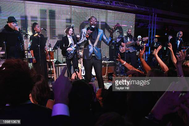william performs at the 2013 Green Inaugural Ball at NEWSEUM on January 20 2013 in Washington DC