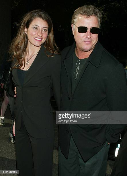 William Petersen guest during CBS Television 20022003 Upfront Party at Tavern On the Green in New York City New York United States