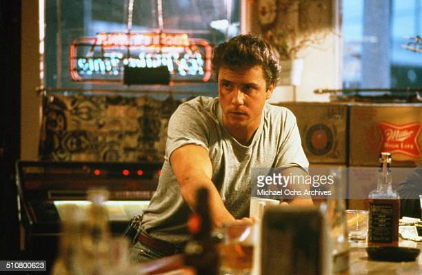 William Petersen looks on in a scene from the MGM movie 'To Live and Die in LA' circa 1985