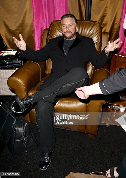 William Petersen with Elite Leather recliner during 2004 Screen Actors Guild Awards Backstage Creations Talent Retreat Day Two at Shrine Auditorium...