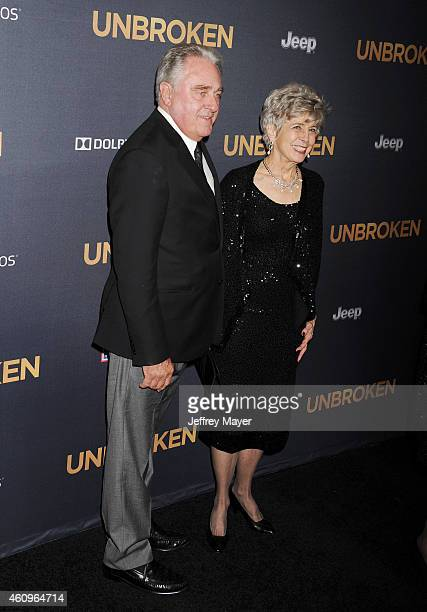 William Pitt and Jane Pitt attend the 'Unbroken' Los Angeles premiere held at the Dolby Theatre on December 15 2014 in Hollywood California