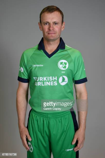 William Porterfield of Ireland poses for a portrait at The Brightside Ground on May 4 2017 in Bristol England