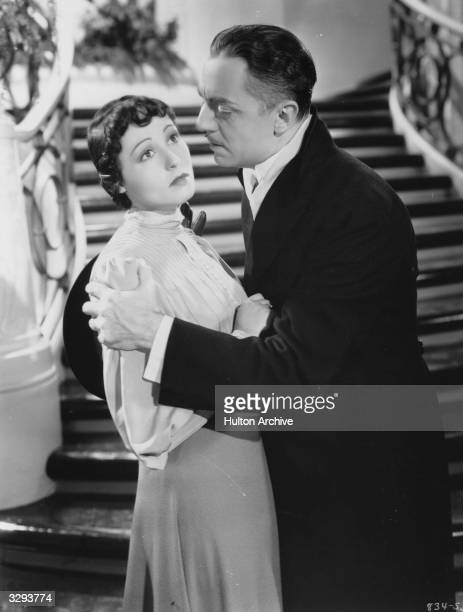 William Powell and Luise Rainer star in the film 'The Great Ziegfeld' a biopic of the Broadway impresario Florenz Ziegfeld