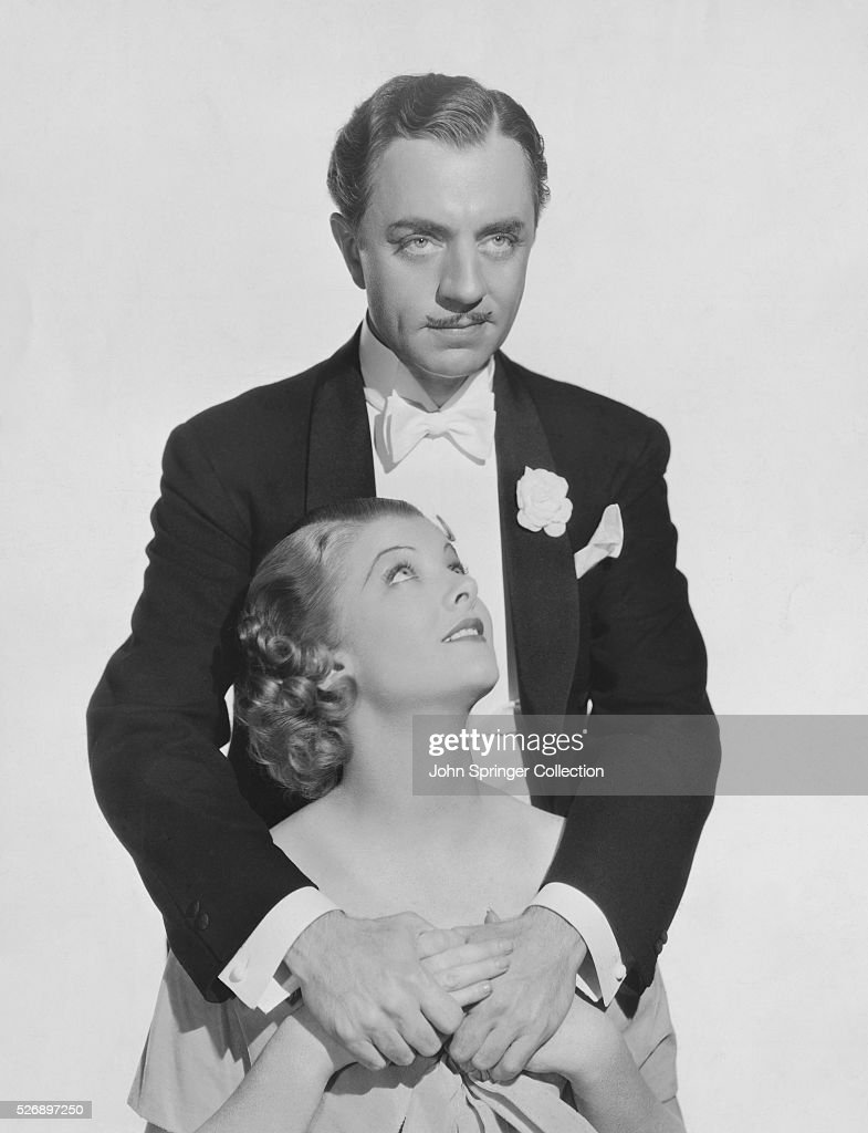 William Powell and Myrna Loy : News Photo