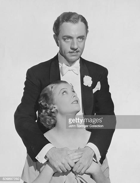 William Powell as Florenz Ziegfeld Jr and Myrna Loy as Betty Burke in the 1936 film The Great Ziegfeld