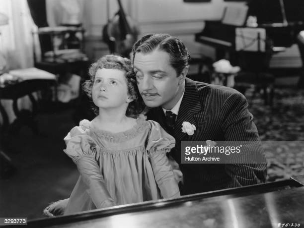 William Powell plays the title role in the film 'The Great Ziegfeld' a biopic of the Broadway impresario Florenz Ziegfeld directed by Robert Z...