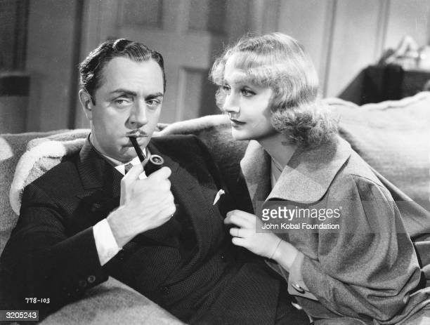 William Powell stars with his exwife Carole Lombard in 'My Man Godfrey' directed by Gregory la Cava