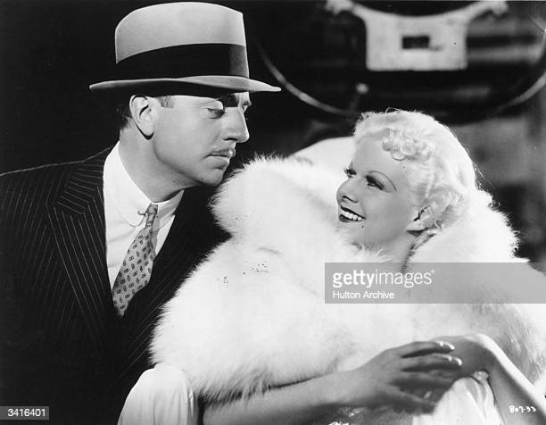 William Powell stars with Jean Harlow in the MGM film 'Reckless' directed by Victor Fleming