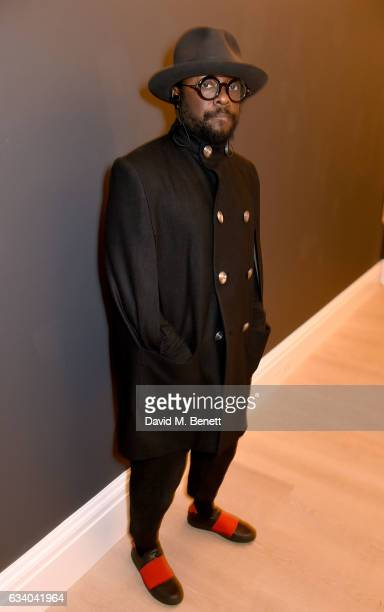 William prior to his with Farfetch CEO Jose Neves hosted by the British Fashion Council Fashion Trust at Sotheby's on February 6 2017 in London...
