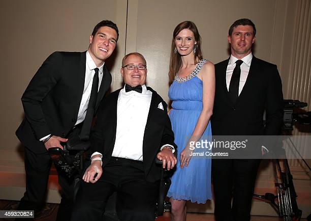 William Reeve Honoree Travis Roy Alexandra Reeve Givens and Matthew Reeve at The Christopher Dana Reeve Foundation A Magical Evening on November 20...