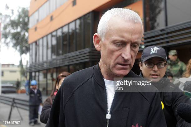 William Reid father of Melissa Reid the Brit youth arrested in Lima Peru on charges of drug trafficking with Irish companion Michaella McCollum...