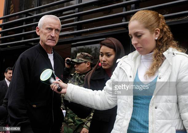William Reid father of Melissa Reid the Brit youth arrested in Lima Peru on charges of drug trafficking with Irish companion Michaella McCollum is...
