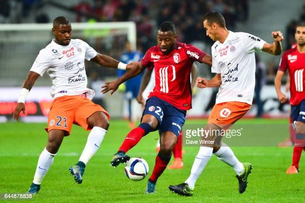 William REMY / Junior TALLO / Ellyes SKHIRI Lille / Montpellier 9e journee de Ligue 1 Photo Dave Winter / Icon Sport