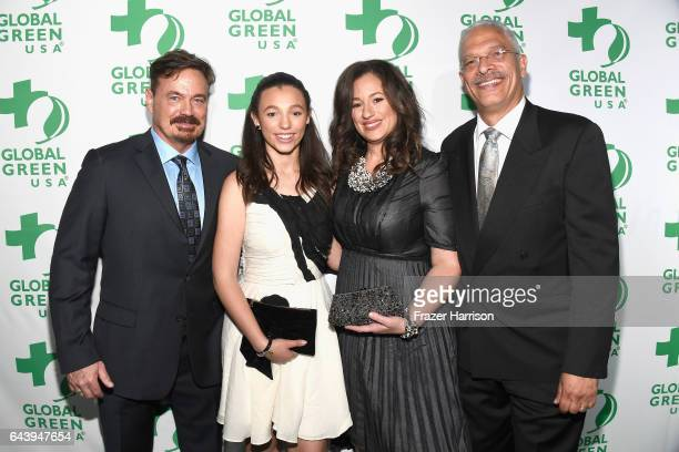 William Rich Kelly VlahakisHanks and family attend the 14th Annual Global Green Pre Oscar Party at TAO Hollywood on February 22 2017 in Los Angeles...