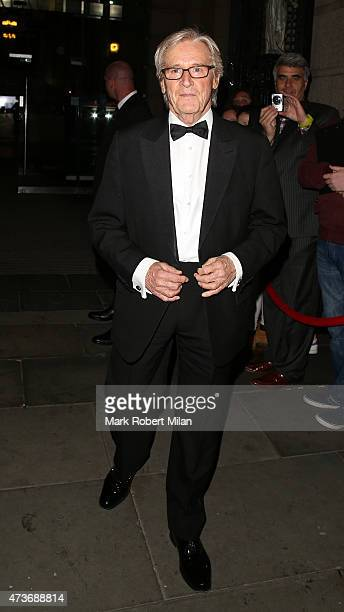 William Roache attending the British Soap Awards at the Palace Theatre on May 16 2015 in Manchester England