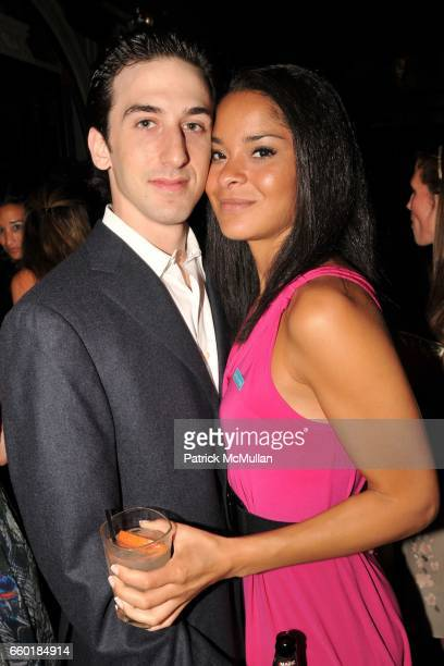 William Robins and Jillian Gumbel attend UNICEF's Next Generation Launch Event at The Gates on July 23 2009 in New York City