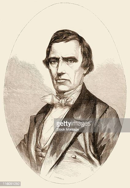 William Rufus de Vance King , American politician. King is shown in a portrait illustration circa 1852. He served as a U.S. Senator, 1819-44 and...