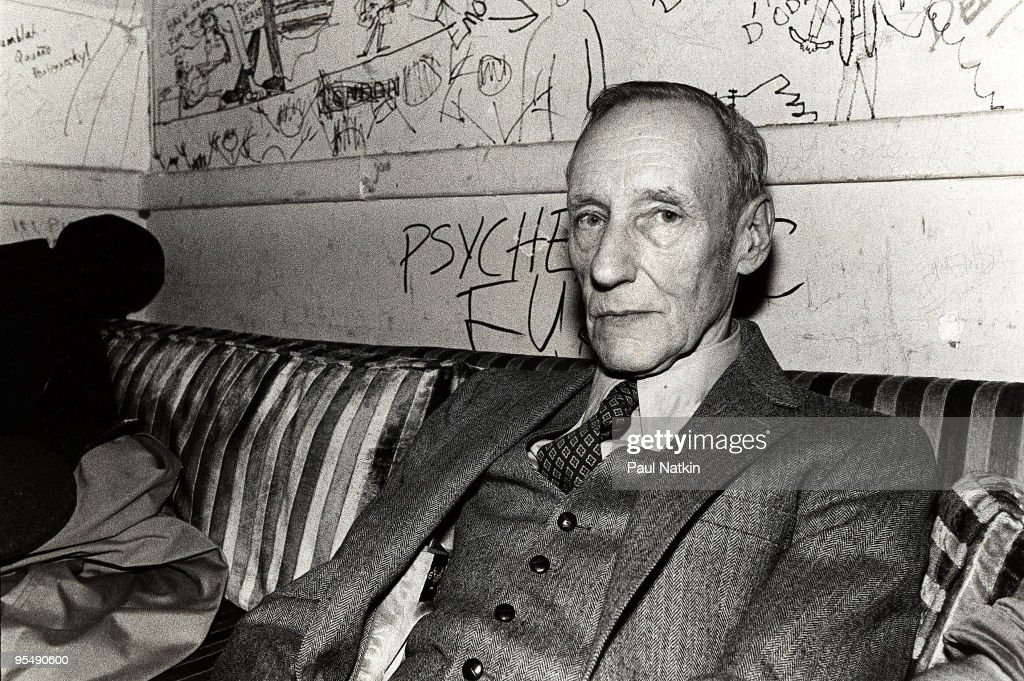 William S. Burroughs on 3/25/81 in Chicago, Il.