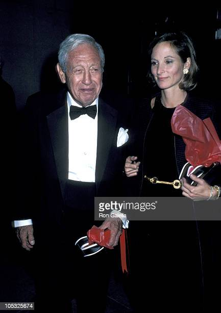 William S Paley and daughter Amanda Burden during The Vienna Ball at Museum of Modern Art in New York City New York United States