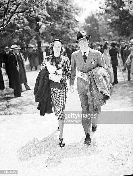 William S Paley and Mrs CV Whitney