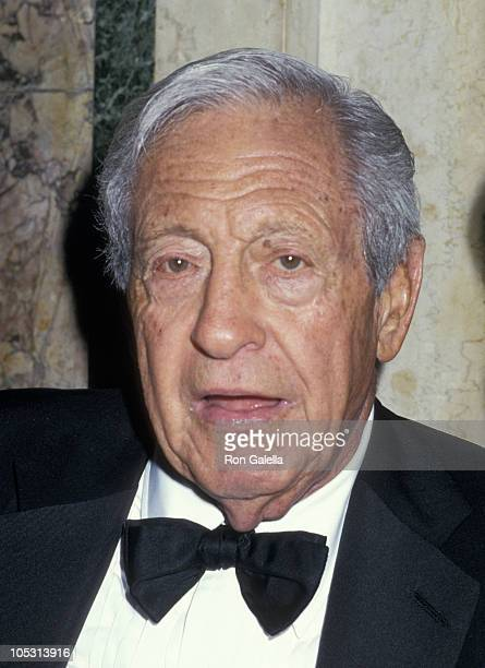 William S Paley during The Fragrance Ball at Waldorf Astoria in New York City New York United States