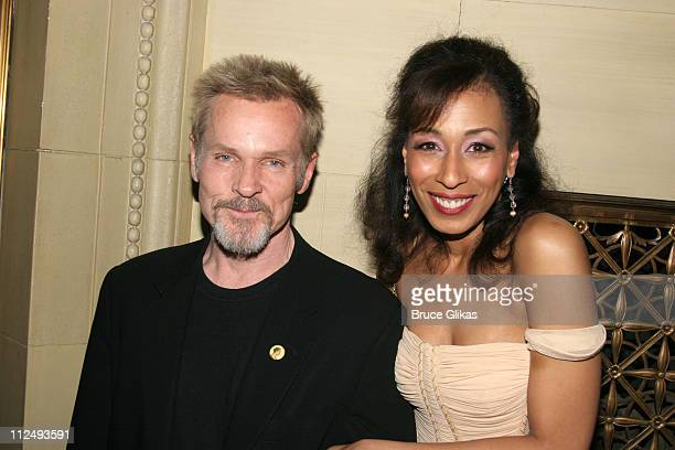 """William Sadler and Tamara Tunie during Opening Night Party for """"Julius Caesar"""" on Broadway at Gotham Hall in New York City, New York, United States."""