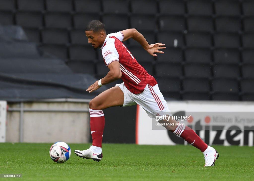 MK Dons v Arsenal: Pre-Season Friendly : News Photo