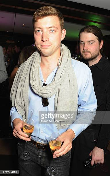 William Scott Moncrieff attends Christian Furr and Chris Bracey 'Staying Alive' Private View at 45 Park Lane on July 3 2013 in London England